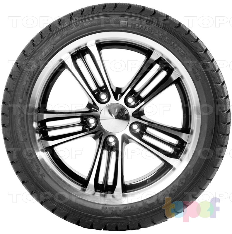 Шины Goodyear Ultra Grip Ice Navi Zea. Вид сбоку