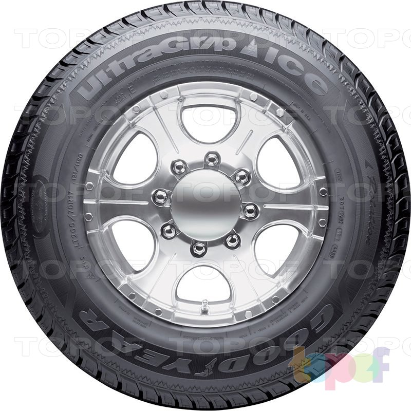 Шины Goodyear Ultra Grip Ice WRT. Вид сбоку