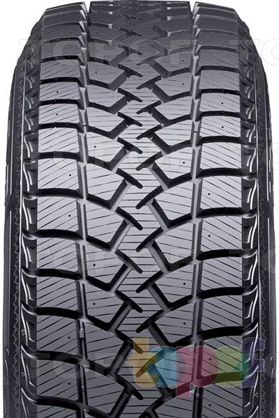 Шины Goodyear Ultra Grip Ice WRT. Рисунок протектора грузовой шины