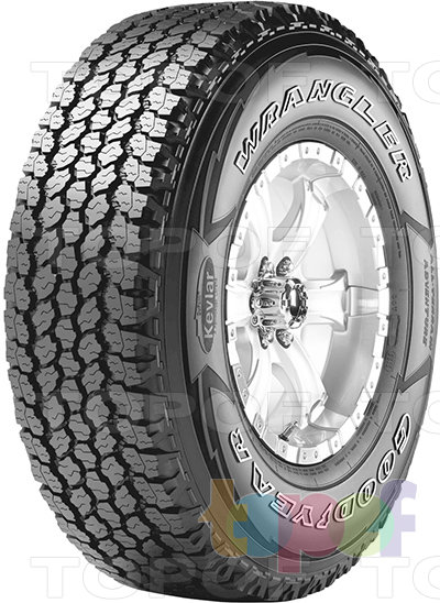Шины Goodyear Wrangler All-Terrain Adventure. Общий вид