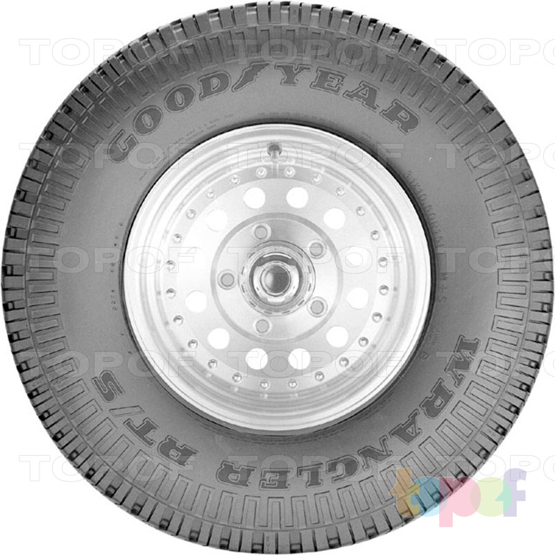 Шины Goodyear Wrangler RT/S. Вид сбоку