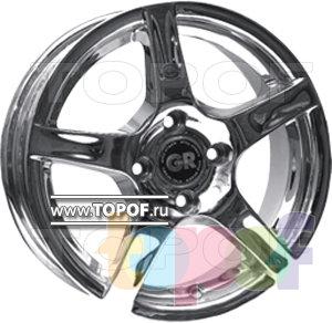 Колесные диски GR A510. Изображение модели #1