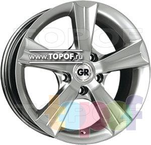 Колесные диски GR A5180. Изображение модели #1