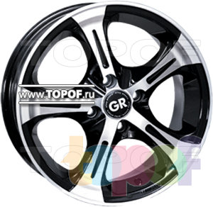 Колесные диски GR A522. Изображение модели #1