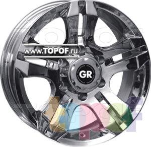 Колесные диски GR A525. Изображение модели #1