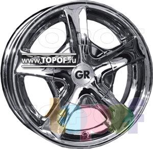 Колесные диски GR A529. Изображение модели #1