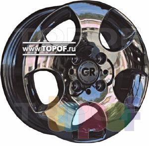 Колесные диски GR A589. Изображение модели #1