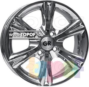 Колесные диски GR A609. Изображение модели #1