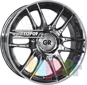 Колесные диски GR A619. Изображение модели #1
