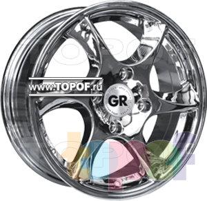 Колесные диски GR A636. Изображение модели #1