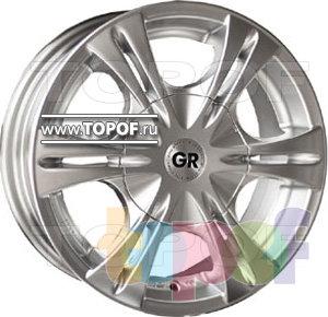 Колесные диски GR A657. Изображение модели #1