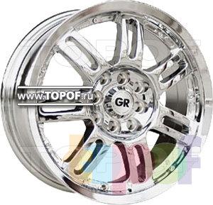 Колесные диски GR A720. Изображение модели #1