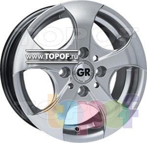 Колесные диски GR E6. Изображение модели #1