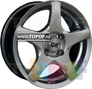 Колесные диски GR E67. Изображение модели #1