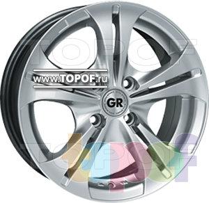 Колесные диски GR E680. Изображение модели #1