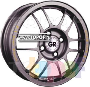 Колесные диски GR HS8. Изображение модели #1