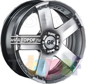Колесные диски GR K202. Изображение модели #1