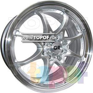 Колесные диски GR K206. Изображение модели #1