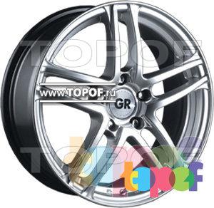 Колесные диски GR K630. Изображение модели #1