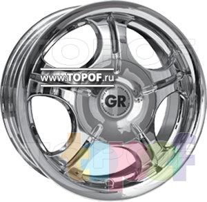 Колесные диски GR R604. Изображение модели #1