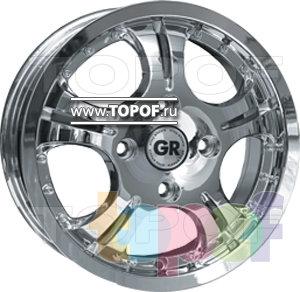 Колесные диски GR R605. Изображение модели #1