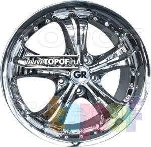Колесные диски GR R611. Изображение модели #1