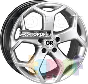 Колесные диски GR S34. Изображение модели #1