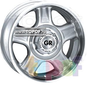 Колесные диски GR T086. Изображение модели #1