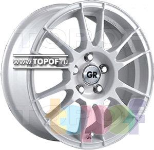 Колесные диски GR T329. Изображение модели #1