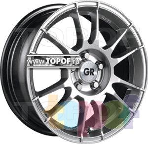 Колесные диски GR T329. Изображение модели #2
