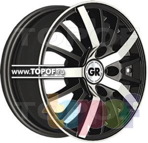 Колесные диски GR T353. Изображение модели #1