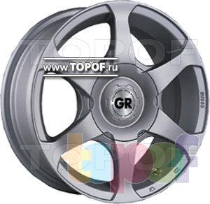 Колесные диски GR W714. Изображение модели #1