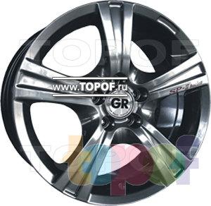Колесные диски GR W781. Изображение модели #1