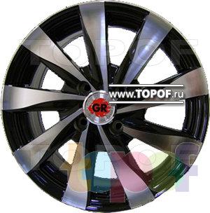 Колесные диски GR Y465. Изображение модели #1