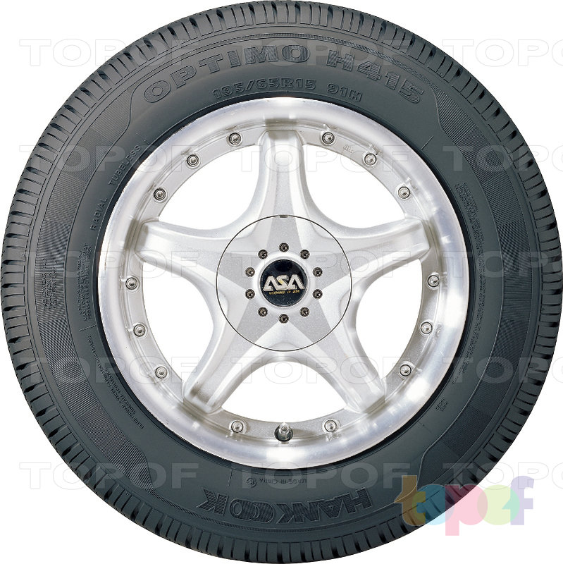 Шины Hankook Optimo H415. Изображение модели #4