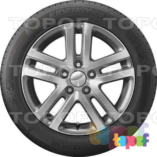 Шины Hankook Optimo K425 Kinergy Eco. Вид сбоку