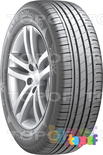 Шины Hankook Optimo K425 Kinergy Eco Van. Вид справа
