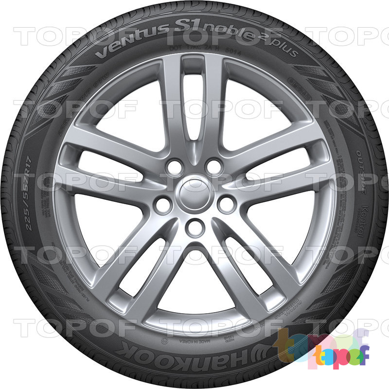 Шины Hankook Ventus S1 noble2 plus H452D. Изображение модели #5