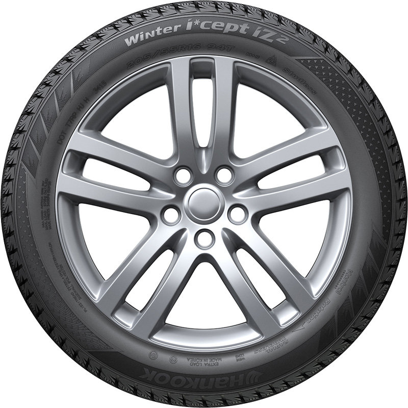 Шины Hankook Winter I*cept iz2 W616. вид сбоку
