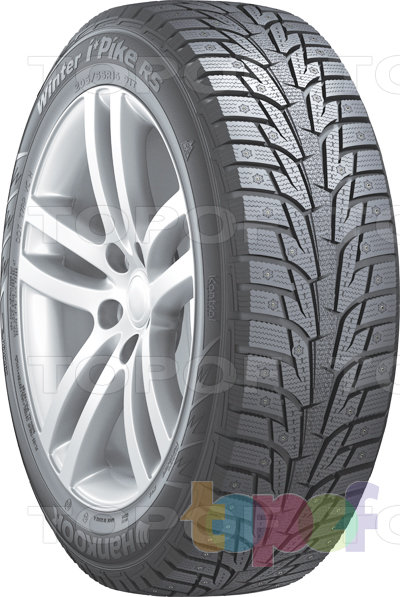 Шины Hankook Winter i*Pike RS W419. Плечевая зона