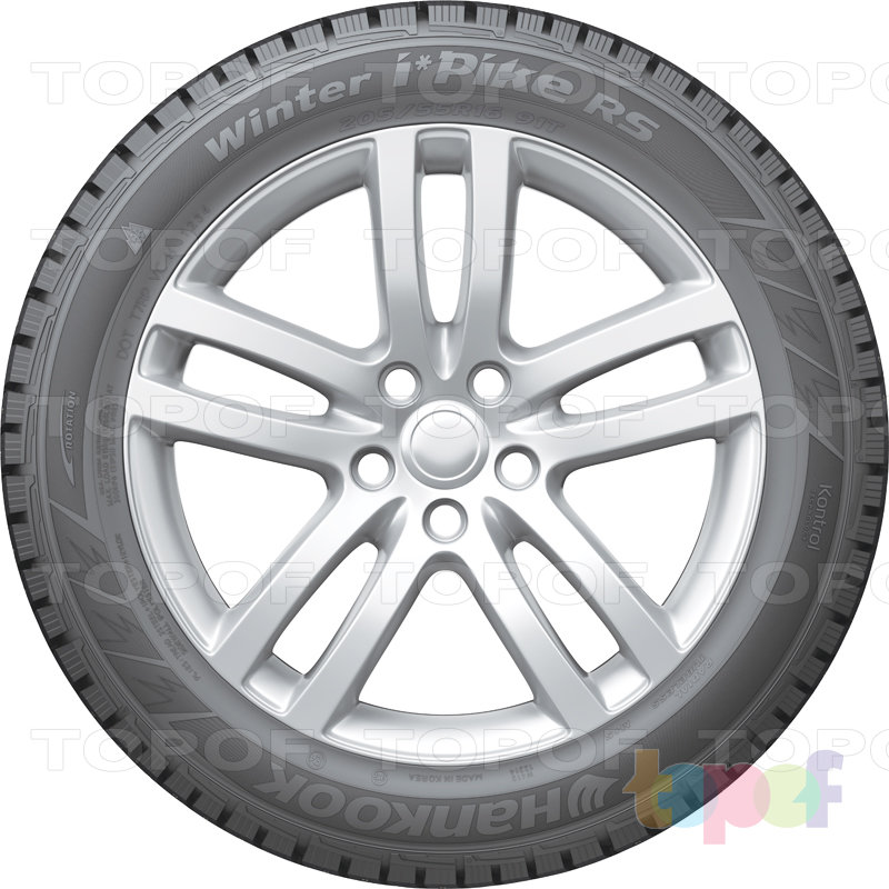 Шины Hankook Winter i*Pike RS W419. Вид сбоку