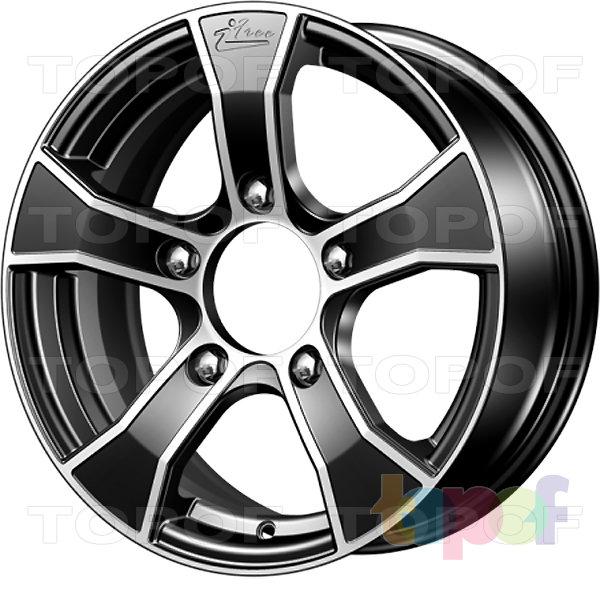 Колесные диски iFree Лайт-круз. Цвет Блек Джек