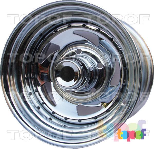 Колесные диски IKON SNC006 - SNC014. В хромированном исполнении