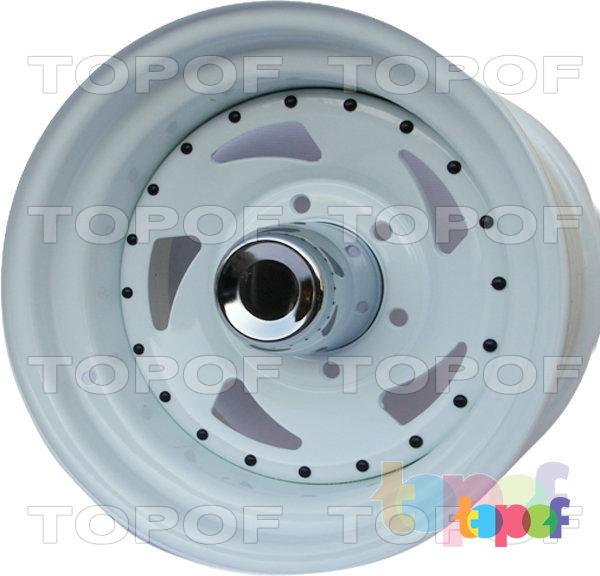 Колесные диски IKON SNC006 - SNC014. В белом исполнении