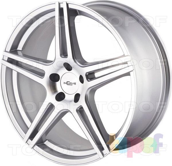 Колесные диски Incurve wheels IC-S5. Цвет серебряный