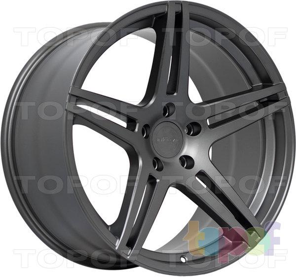 Колесные диски Incurve wheels IC-S5. Цвет темно серый