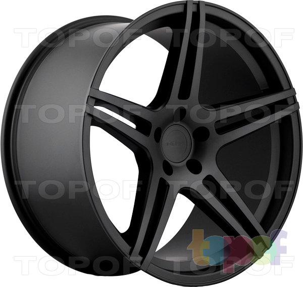 Колесные диски Incurve wheels IC-S5. Цвет матовый черный
