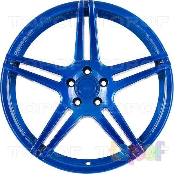 Колесные диски Incurve wheels IC-S5. Deep Blue