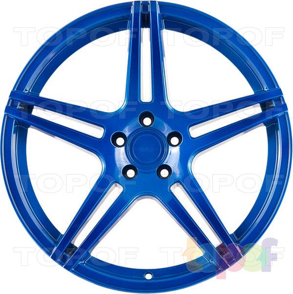 Колесные диски Incurve wheels IC-S5. Deep Blue