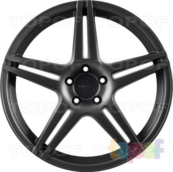 Колесные диски Incurve wheels IC-S5. Матовый черный
